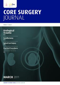 Core Surgery Journal, volume 1, issue 3: Urological Trauma