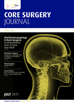 Core Surgery Journal, volume 1, issue 5: Core Surgery