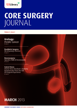 Core Surgery Journal, volume 3, issue 2: Urology