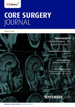 Core Surgery Journal, volume 4, issue 5: Neurosurgery