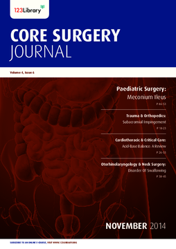Core Surgery Journal, volume 4, issue 6: Paediatric Surgery