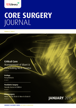 Volume 5, Issue 1: Critical Care