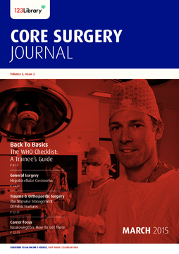 Volume 5, Issue 2: Critical Care