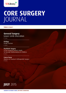 Core Surgery Journal, volume 5, issue 4: General Surgery
