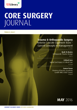 Core Surgery Journal, volume 6, issue 2: Trauma and Orthopaedic Surgery