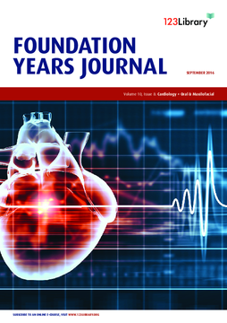 Foundation Years Journal, volume 10, issue 8: Cardiology; Oral and Maxilofacial