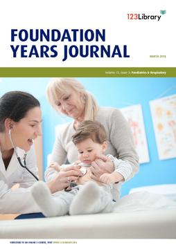 Foundation Years Journal, volume 12, issue 3: Paediatrics and Respiratory