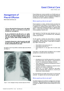 Foundation Years Journal, volume 1, issue 1: Cardiology, Respiratory