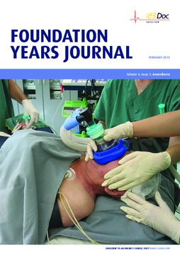 Foundation Years Journal, volume 4, issue 2: Anaesthesia