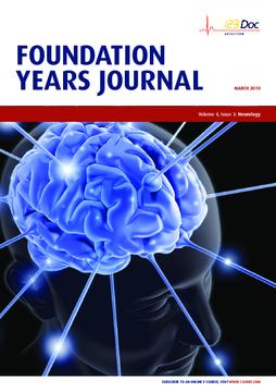 Foundation Years Journal, volume 4, issue 3: Neurology
