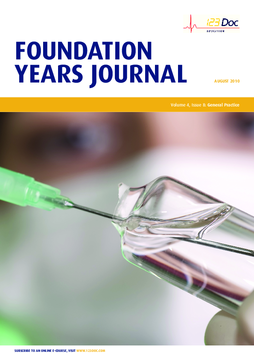 Foundation Years Journal, volume 4, issue 8: General Practice