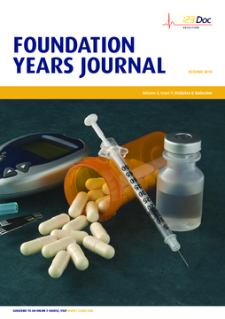 Foundation Years Journal, volume 4, issue 9: Diabetes and Endocrine