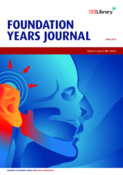 Foundation Years Journal, volume 7, issue 4: ENT - Part 2