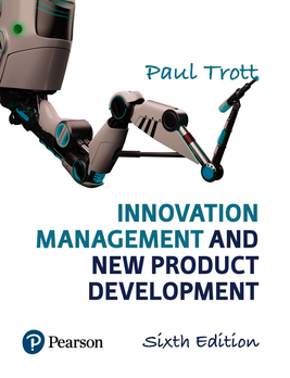 Innovation management and new product development trott for Innovative product development companies