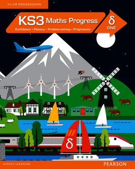 KS3 Maths Progress Student Book Delta 1, Maths Progress