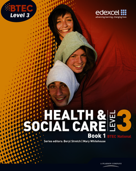 Btec health and social care level 3 book